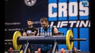 2017 Crosslifting WORLD CUP / Men 80 kg