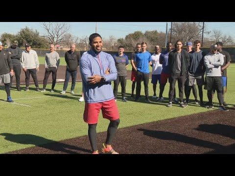 Texas Ranger Elvis Andrus Donates Baseball, Softball Equipment To Teams Whose School Was Destroyed