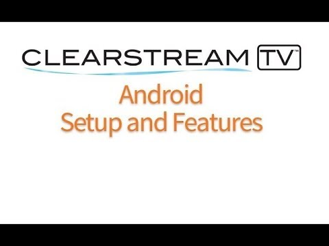 ClearStream TV Wireless Tuner Adapter - Android Setup And Features