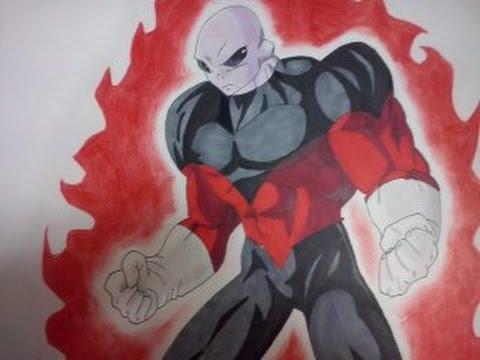 Como dibujar a JIREN Máximo poder dbs ( TROPA DE ORGULLO ...