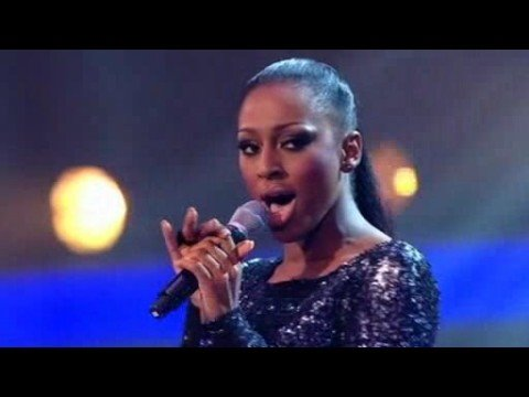 Stage:Alexandra Burke Tears The Stage Apart With Whitney Song