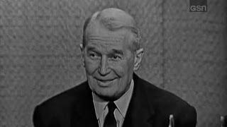 What's My Line? - Maurice Chevalier; Martin Gabel [panel]; Steve Lawrence [panel] (Jan 27, 1963)