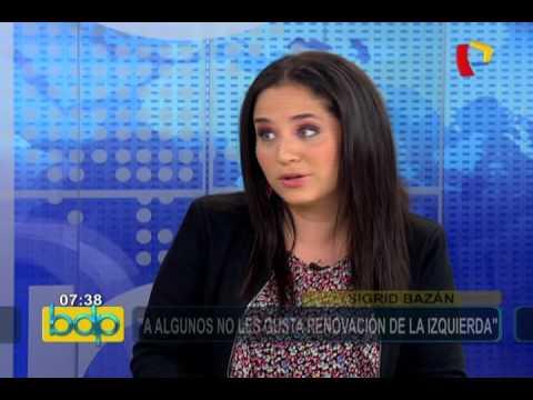 """Sigrid Bazán: """"La izquierda tiene muchos problemas"""""""