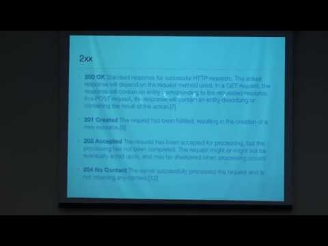 19 - Omar Fernando Zafe - REST 101: An Overview To Representation State Transfer APIs