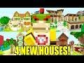 Minecraft | Nintendo Fun House | 4 BRAND NEW HOUSES *INSANE!* [422]