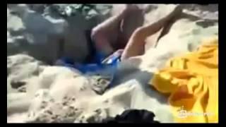 Прикол на пляже