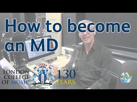 Musical Director for West Side Story - How to Become an MD | LCM TV