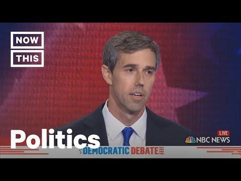 Beto O'Rourke and Cory Booker Speak Spanish at Dem Debate | NowThis