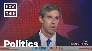 Beto O'Rourke and Cory Booker Speak Spanish at Dem Debate