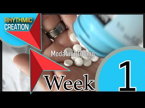 Week 1 of Modafinil Vlog