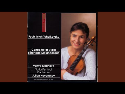 Concerto for Violin and Orchestra In D Major, Op. 35. Canzonetta, Andante, Attacca