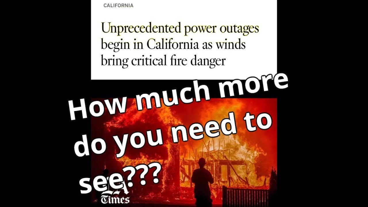 TRUTH BEHIND THE POWER OUTAGES - WHY ARE THEY REALLY SHUTTING IT DOWN?