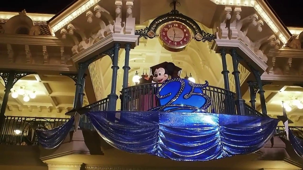 25周年】ディズニーランド・パリ &ウォルト・ディズニー・スタジオ