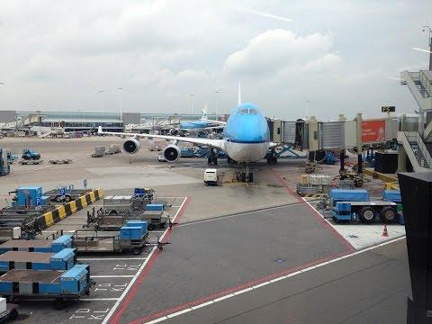KLM Royal Dutch Airlines KL861 Amsterdam Schiphol to Tokyo Narita *Full Flight*