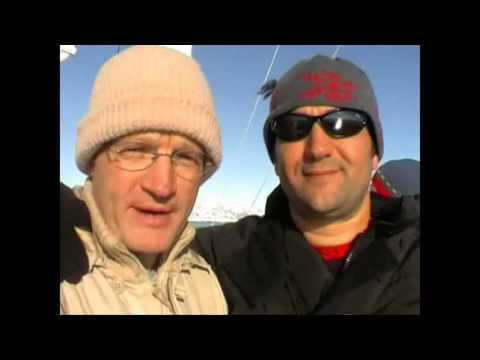 Scuba diving in Antartica.