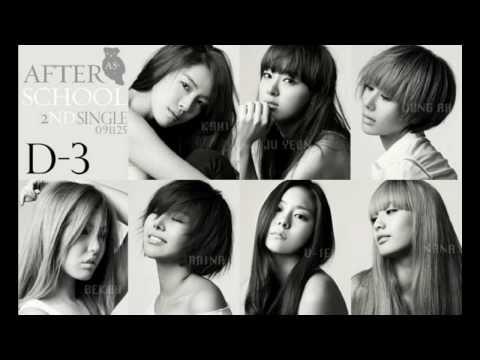 After School - Because Of You Instrumental (w/ Lyrics)