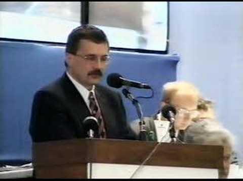 Josef Lux na Sjezdu KDU-ČSL v Českých Budějovicích 1999 (1)