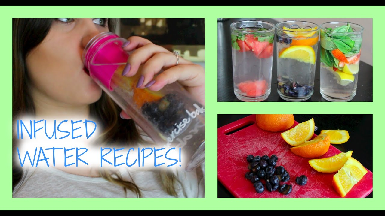 3 Recipes To Infuse Your Water And Make It Taste Better -7920