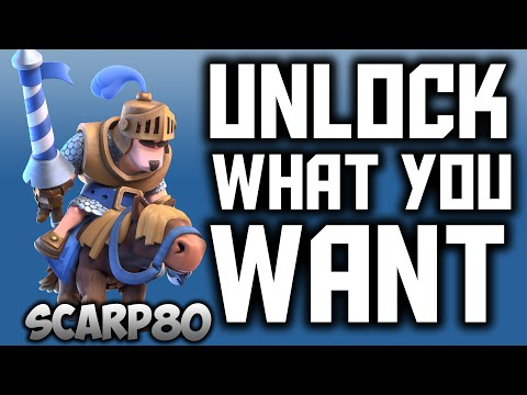 How To Unlock The Troops YOU WANT in Clash Royale, Tips / SCARP80