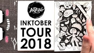 31 Drawings in 31 Days - INKTOBER TOUR 2018