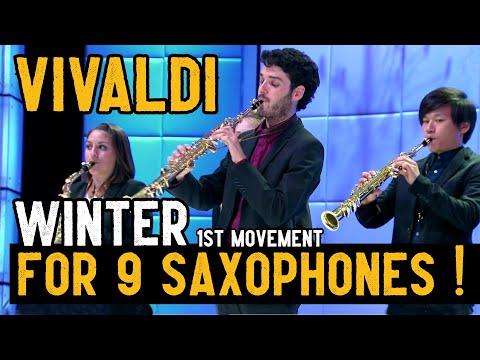 Vivaldi - Winter (for wind instruments) - Rare !