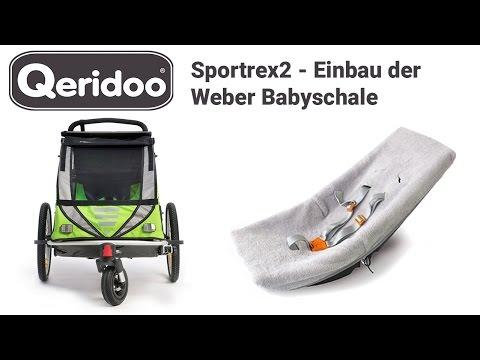 Sportrex2 Einbau Der Weber Babyschale Youtube