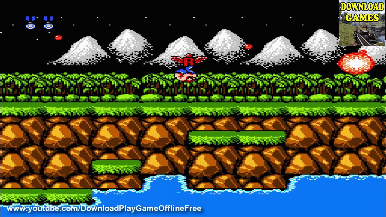Download & Play game Contra, Battle City, Super Contra, DD2 on PC Free