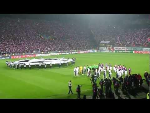 Trabzonspor - Inter 22.11.2011  Şampiyonlar Ligi - Muhteşem Taraftar ( Şampiyonlar Ligi Müziği)