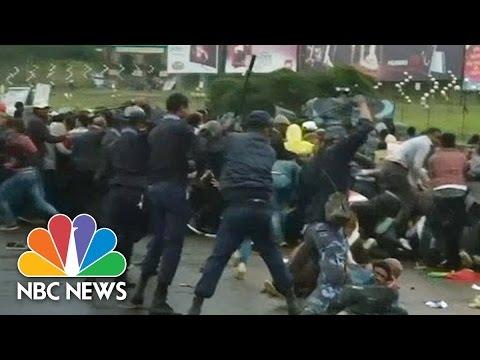 Dozen  Killed In Weekend Protests Across Ethiopia | NBC News