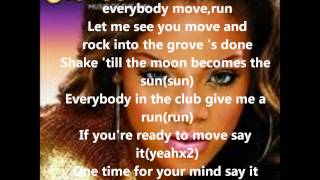 Pon de Replay - Rihanna - lyrics