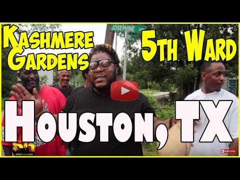 5th Ward & Kashmere Gardens; Life in Houston's northeast side