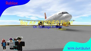 [Roblox Flight] Bay Air A320neo With Cabin Tours
