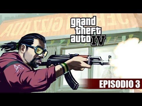 GTA IV #3 | LITTLE JACOB PRIMEIRA ARMA DEU CEGADA (GTA 4 EM PORTUGUÊS)