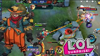 BEWARE OF THE SURPRISE HOOKS 😂 | S14 RANK HM | WOLF XOTIC | MOBILE LEGENDS BANG BANG