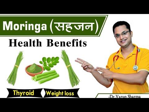 Moringa Oleifera Health Benefits in hindi | Moringa for thyroid Weight loss