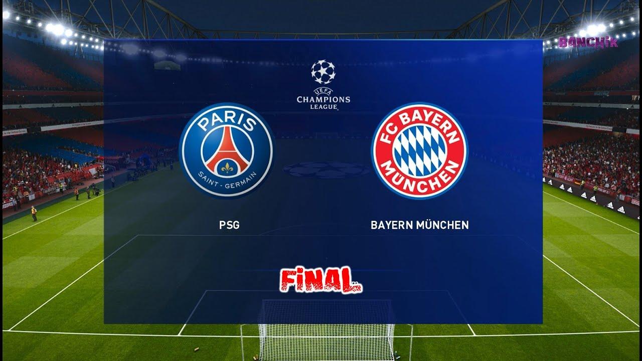 Psg Vs Bayern Munich Uefa Champions League 2020 Final Gameplay Hd Youtube