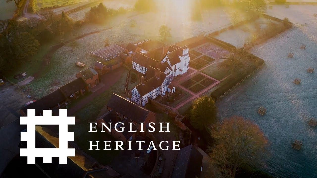 Postcard from Boscobel House and the Royal Oak, Shropshire | England Drone Footage