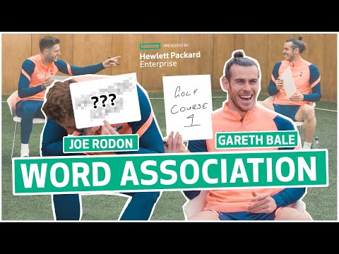 """""""Childish? That's an understatement!"""" 😂 Bale & Rodon banter each other in word association game!"""