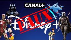 DISNEY PLUS AVEC CANAL PLUS ? OUI ET NON !
