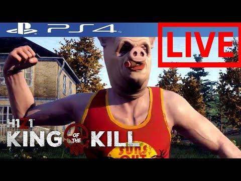 ENJOYING H1Z1 PS4 w/viewers NEW DLC SKINS SOON