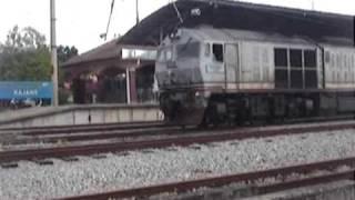 KTM Komuter Hybrid Train hauled by 24107