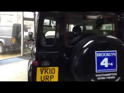 Brooklyn 4x4 - Our Vehicle Of The Week!- Land Rover Defender 110 In Java- Sorry now Sold!