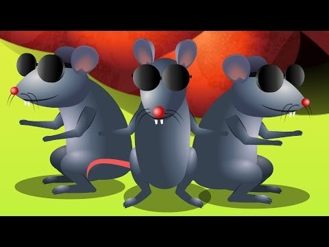 Three Blind Mice - Famous Nursery Rhyme Collection & Children Songs