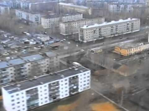 Полет над Сердобском в 1996 году