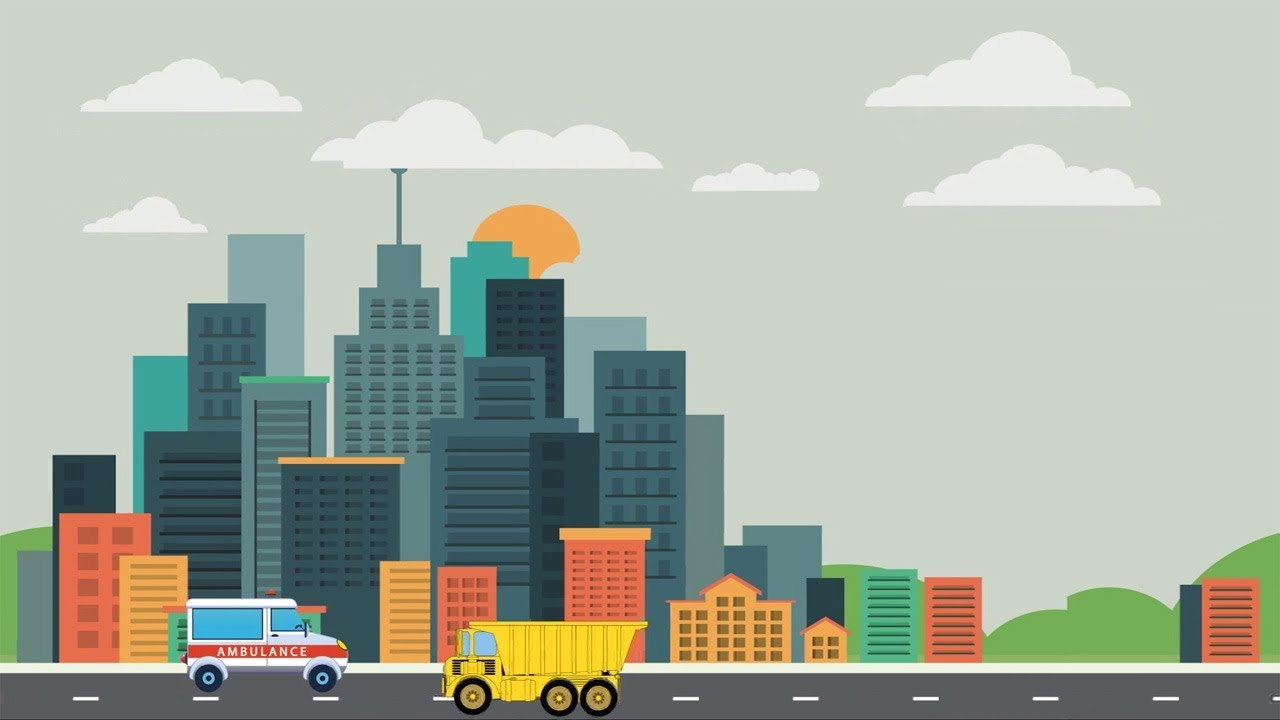 Video Animasi Puzzle Mobil Ambulance Kartun  Truk  YouTube