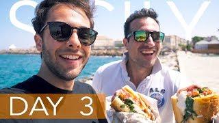 SICILY DAY 3:  SIRACUSA / ORTIGIA / CASEIFICIO BORDERI  ∫ VLOG 10