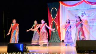 Sandhya Tampa Telugu Association Diwali dance 2014