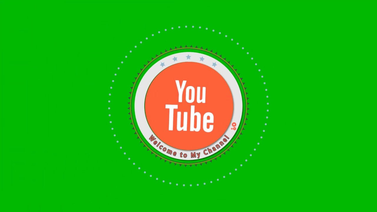 Intro Youtube Logo Green Screen Full Hd 2019 Animated Subscribe Button 3 Youtube