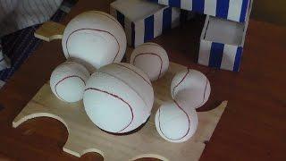como hacer una pelota de beisbol en anime