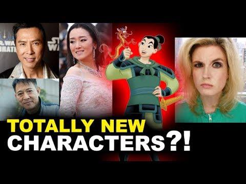 Disney's Live Action Mulan  Donnie Yen, Jet Li, Gong Li  REACTION